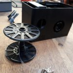 Lab-Box mit Filmspule